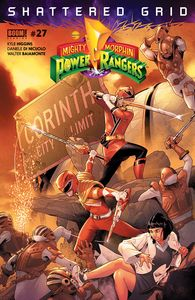[Mighty Morphin Power Rangers #27 (Main) (Product Image)]