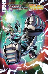[Transformers/Back To Future #2 (Cover A Juan Samu) (Product Image)]