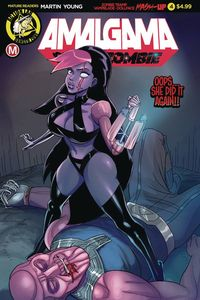 [Amalgama: Space Zombie #4 (Cover A Young) (Product Image)]