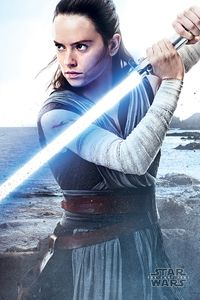 [Star Wars: The last Jedi: Poster: Rey Engage (Product Image)]