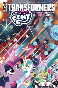 [My Little Pony/Transformers #4 (Cover A Fleecs) (Product Image)]