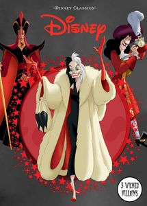 [Disney Classics: 3 Wicked Villains (Hardcover) (Product Image)]
