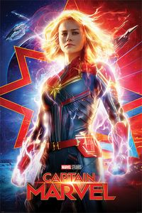 [Captain Marvel: Poster: Higher Further (Product Image)]