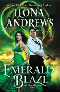 [Emerald Blaze: A Hidden Legacy Novel (Hardcover) (Product Image)]