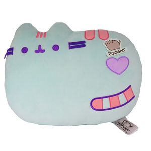 [Pusheen: Cushion: Green Smile (Product Image)]