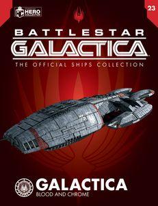 [Battlestar Galactica Ships Magazine #23: Galactica Blood & Chrome (Product Image)]