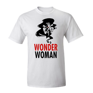 [Justice League: T-Shirt: Stylised Wonder Woman (Product Image)]