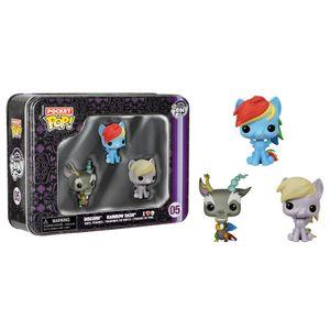[My Little Pony: Pop! Vinyl Mini Figures: 3-Pack Tin: Rainbow Dash, Derpy & Discord (Product Image)]