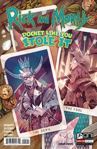 [Rick & Morty: Pocket Like You Stole It #5 (Kirkby Variant (C) (Product Image)]