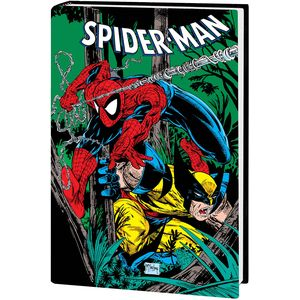 [Spider-Man By McFarlane: Omnibus (Wolverine DM Variant New Printing Hardcover) (Product Image)]