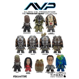 [AVP: TITANS: 'Whoever Wins' Collection (Complete Display) (Product Image)]