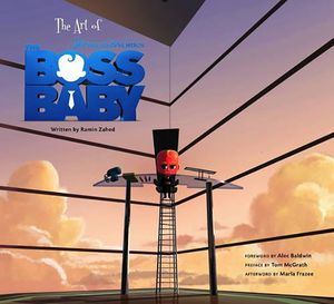[The Art Of The Boss Baby (Hardcover) (Product Image)]