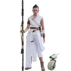 [Star Wars: The Rise Of Skywalker: Hot Toys Action Figure: Rey & D-O (Product Image)]