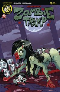 [Zombie Tramp: Ongoing #45 (Cover C Garcia) (Product Image)]