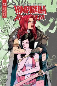 [Vampirella/Red Sonja #12 (Cover E Moss) (Product Image)]