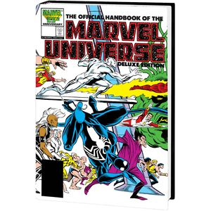 [The Official Handbook Of The Marvel Universe: Deluxe Edition Omnibus (Frenz DM Variant Hardcover) (Product Image)]