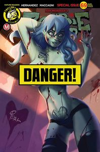 [Zombie Tramp: Ongoing #69 (Cover D Pekar Risque) (Product Image)]