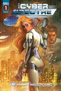 [Cyber Spectre #1 (Ale Garza KS Cover - Signed Edition) (Product Image)]