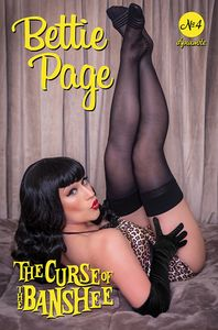 [Bettie Page: The Curse Of The Banshee #4 (Cover D Cosplay) (Product Image)]
