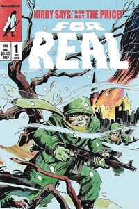 [The cover for For Real #1]