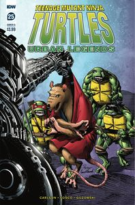 [Teenage Mutant Ninja Turtles: Urban Legends #25 (Cover A Fosco) (Product Image)]