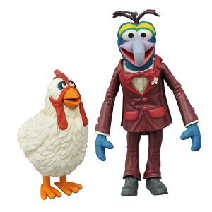 [Muppets: Series 1 Select Action Figure Set: Gonzo & Camilla (Product Image)]