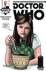 [Doctor Who: 12th #1 (LaClaustra Variant) (Product Image)]