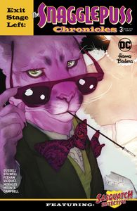 [Exit Stage Left: The Snagglepuss Chronicles #3 (Product Image)]