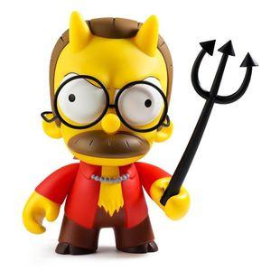 [Kidrobot: Vinyl Figure: The Simpsons Devil Flanders (Product Image)]