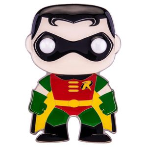 [DC Comics: Loungefly Large Enamel Pop! Pin: Robin (Product Image)]