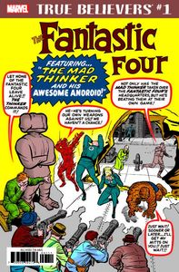 [True Believers: Fantastic Four: Mad Thinker Droid #1 (Product Image)]