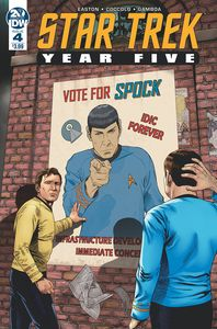 [Star Trek: Year Five #4 (Cover A Thompson) (Product Image)]