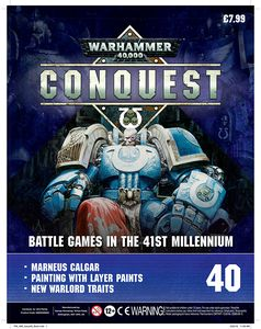 [Warhammer 40K: Conquest: Figurine Collection #40 (Product Image)]