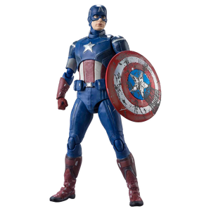 [Marvel: Avengers: S.H.Figuarts Action Figure: Captain America (Avengers Assemble Edition) (Product Image)]