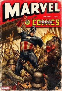 [Marvel Comics #1000 (Brooks 40s Variant) (Product Image)]