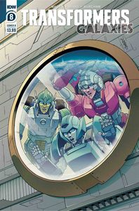 [Transformers: Galaxies #8 (Cover B Chan) (Product Image)]