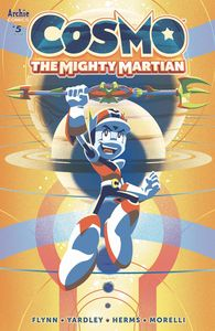 [Cosmo: The Mighty Martian #5 (Cover A Yardley) (Product Image)]