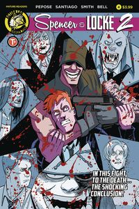 [Spencer & Locke 2 #4 (Cover A Santiago) (Product Image)]