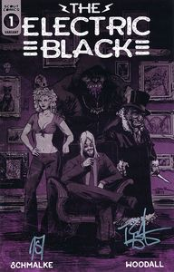[Electric Black #1 (Cover B Signed Edition) (Product Image)]