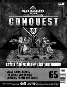 [Warhammer 40K: Conquest: Figurine Collection #65 (Product Image)]