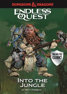 [Dungeons & Dragons: Endless Quest: Into the Jungle (Hardcover) (Product Image)]