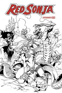 [Red Sonja #15 (Castro B&W Variant) (Product Image)]