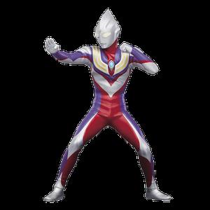 [Ultraman: Hero's Brave Statue: Ultraman Tiga (Version A) (Product Image)]