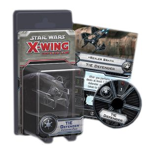 [Star Wars: X-Wing Miniatures: Expansion Pack: TIE Defender (Product Image)]
