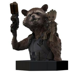 [Guardians Of The Galaxy Vol. 2: Bust: Rocket & Groot (Product Image)]