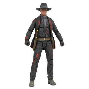 [Westworld: Man In Black PX Action Figure: Battle Damaged (Product Image)]