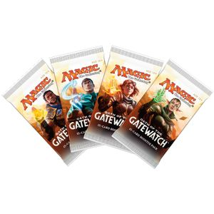 [Magic The Gathering: Oath Of The Gatewatch: Booster Pack (Product Image)]