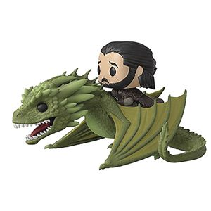 [Game Of Thrones: Pop! Rides Figure: Jon Snow On Rhaegal (Product Image)]
