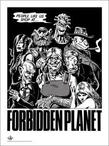 [Forbidden Planet: 18x24 Giclee Print: People Like Us (Signed) (Product Image)]
