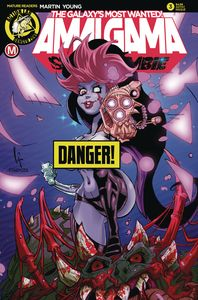 [Amalgama Space Zombie: Galaxy's Most Wanted #3 (Cover D Serrato R) (Product Image)]